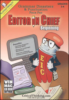 Editor In Chief Beginning Software