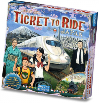 Ticket to Ride: Japan and Italy Map Collection/Expansion (Volume 7)