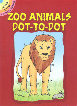 Zoo Animals Dot-to-Dot Little Activity Book