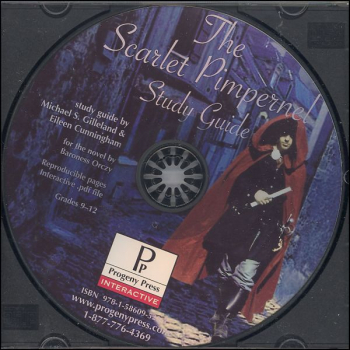 Scarlet Pimpernel Study Guide on CD