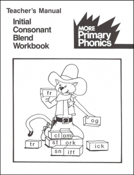 More Primary Phonics Initial Consonant Blend Teacher