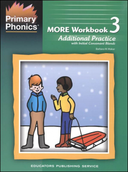 Primary Phonics MORE Workbook 3