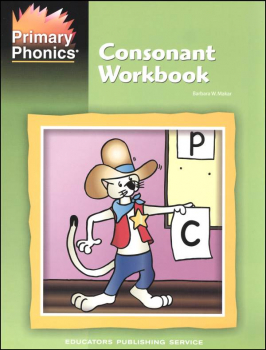 Primary Phonics Consonant Book
