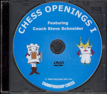 Chess Openings I DVD