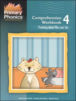 Primary Phonics Comprehension Workbook 4
