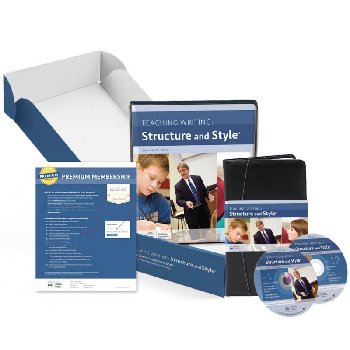 Teaching Writing: Structure and Style (DVDs, Workbook, Premium Membership)