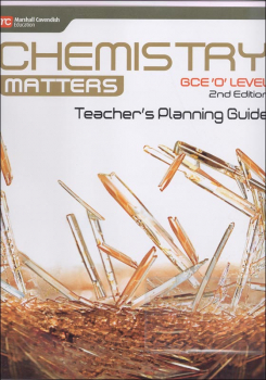 Chemistry Matters Teachers Planning Guide