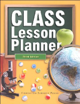 Class Lesson Planner Third Edition