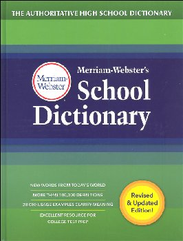 Merriam-Webster's School Dictionary