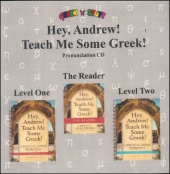 Hey, Andrew! Teach Me Some Greek! Pronunciation CD for the Reader & Levels 1-2