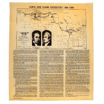 Lewis & Clark Expedition Historical Document