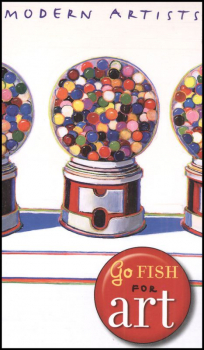 Go Fish for Modern Artists Game Cards & Book