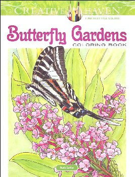 Butterfly Gardens Coloring Book (Creative Haven)