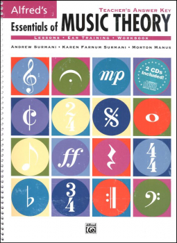 Essentials of Music Theory Answer Key and Ear Training CDs