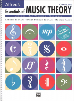 Essentials of Music Theory Book and Ear Training CDs