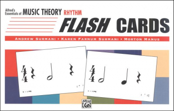 Essentials of Music Theory Rhythm Flash Cards
