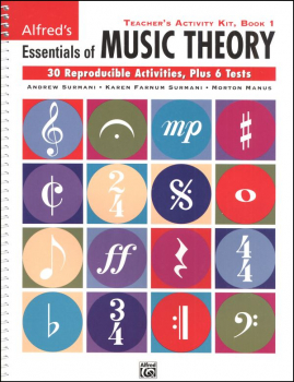 Essentials of Music Theory Teacher Activity Kit Book 1