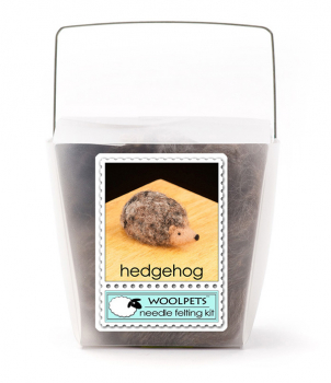Needle Felting Kit: Hedgehog