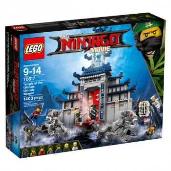 LEGO Ninjago Temple of The Ultimate Ultimate Weapon (70617)