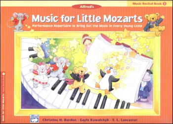 Music for Little Mozarts Music Recital Book 1