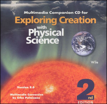 Exploring Creation with Physical Science Companion CD-ROM
