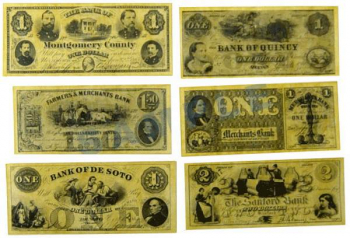 Union State Currency Historical Document