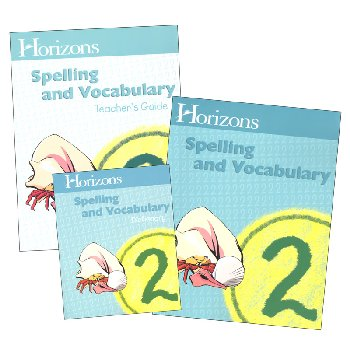 Horizons Spelling & Vocabulary 2 Complete