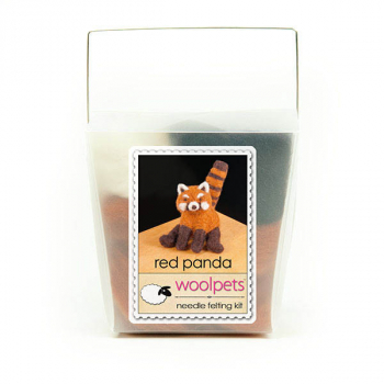 Needle Felting Kit: Red Panda