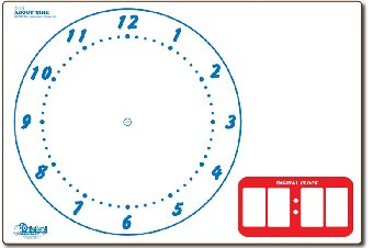 "Remarkable Learning Clock 9"" x 12"""