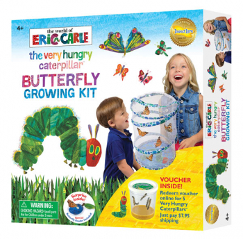 World of Eric Carle The Very Hungry Caterpillar Butterfly Growing Kit