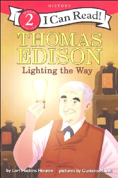 Thomas Edison: Lighting the Way (I Can Read! Level 2)