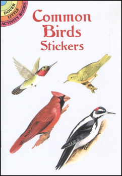 Common Birds Stickers