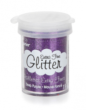 Extra Fine Glitter - Deep Purple (15 grams)