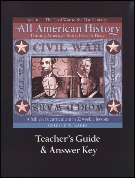 All American History Volume 2 Teacher Guide/Answer Key