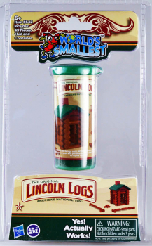 World's Smallest Lincoln Logs