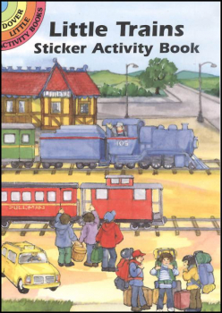 Little Trains Sticker Activity Book