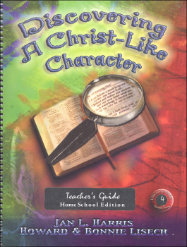 Discovering a Christ-Like Character Home School Teacher