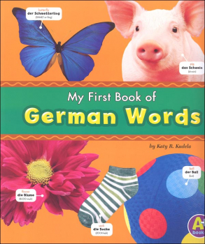 My First Book of German Words (Bilingual Picture Dictionaries)