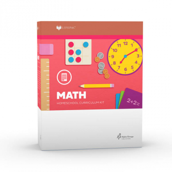 Mathematics Grade 2 LIFEPAC Complete Boxed Set