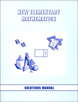 New Elementary Math 1 Solution Manual