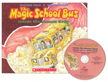 Magic School Bus Inside the Human Body Book & Audio CD