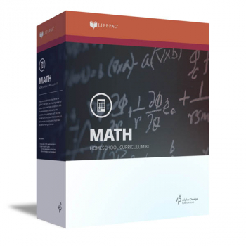 Mathematics Grade 8 LIFEPAC Complete Boxed Set