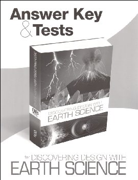 Discovering Design with Earth Science Answer Key & Tests