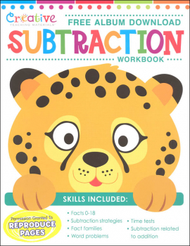 Creative Teaching Materials Subtraction Workbook