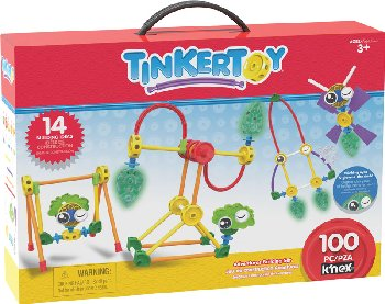 Tinkertoy Winking Adventures Building Set (100 pieces)