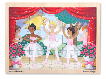 Ballet Performance Wooden Jigsaw Puzzle (48 pieces)