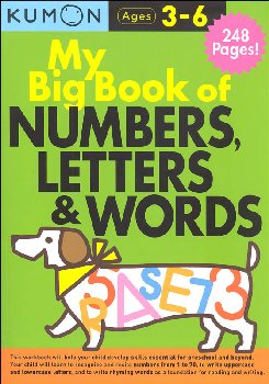 My Big Book of Numbers, Letters