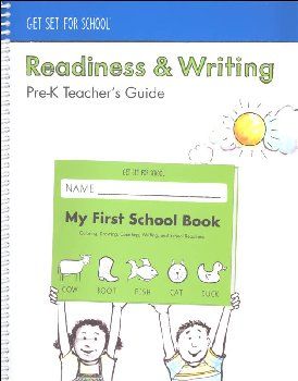 Readiness & Writing Pre-K Teacher Guide 2018 Edition