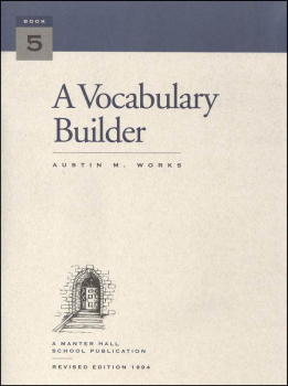 Vocabulary Builder Book 5
