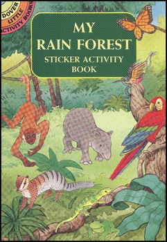 My Rain Forest Small Sticker Activity Book